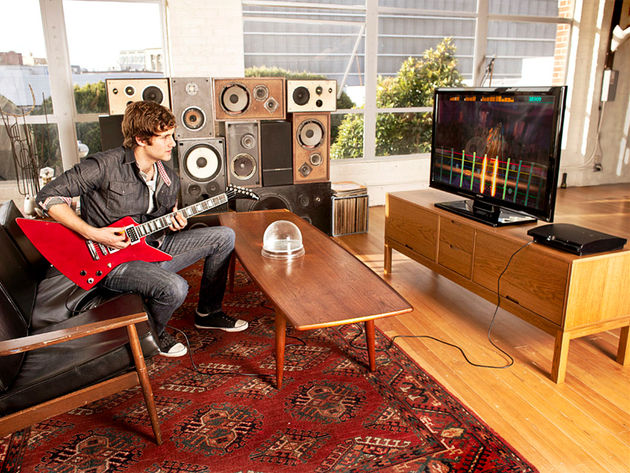 Rocksmith: wall of speakers not included