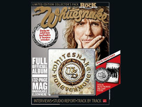 Classic Rock Whitesnake Fan Pack 'Snakezine' is on sale now
