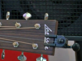 Musikmesse 2012 video: AddString - fit an extra string to your acoustic guitar