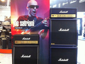 Interview: Joe Satriani on his new Marshall JVM410HJS signature amp