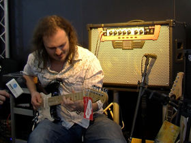 Musikmesse 2012 video: Roland GA-212 guitar amp
