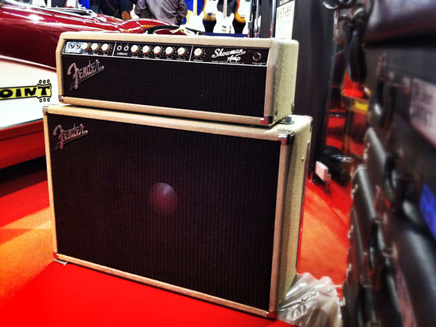 1962 Blonde Fender Showman Amp
