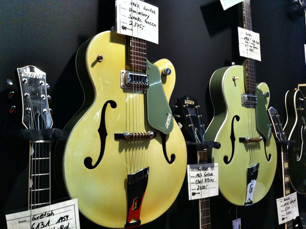 1962 Gretsch 6125 Anniversary hollowbodies