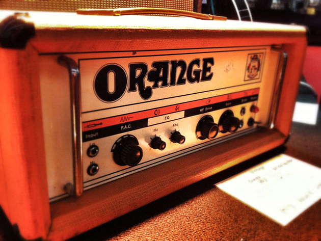 1970s Orange OR120 amp head