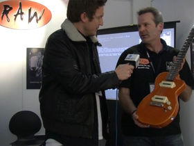 Musikmesse 2012 video: The Raw Guitar Co.