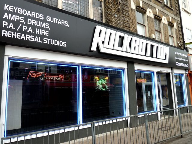 Rockbottom's newly-refurbished store