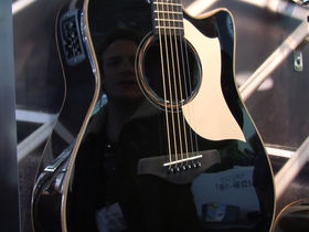 Musikmesse 2012 video: Yamaha Limited Edition A Series acoustics