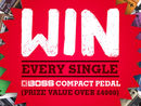 Win 40 Boss pedals and help raise money for worthy causes