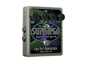 Electro-Harmonix Superego Synth Engine pedal unveiled