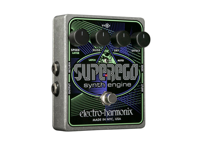 The Superego: gives your guitar synth-like qualities.
