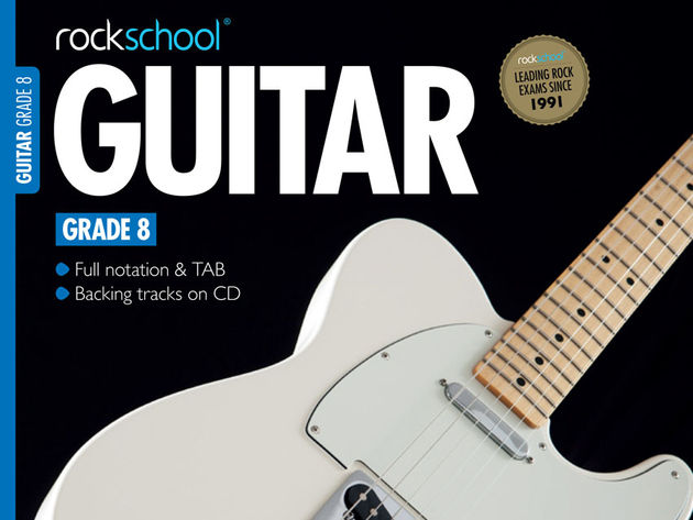 Rockschool's new grade eight book