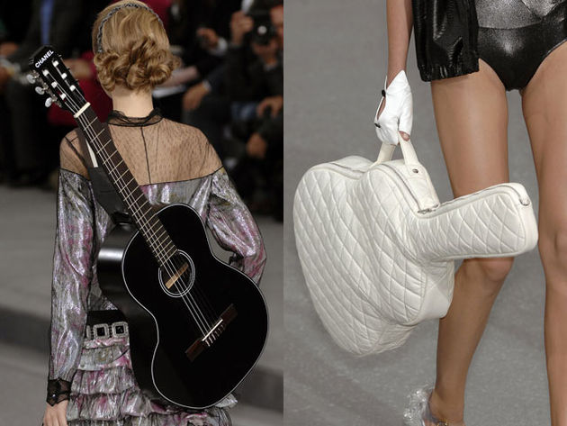 Your £2800 also gets you a padded gigbag and strap, as modelled here...