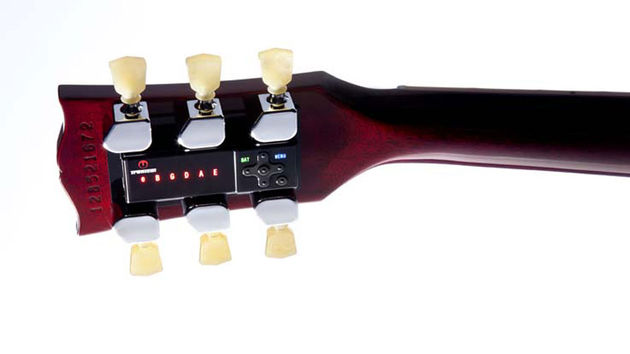 The Min-Etune is the latest in the Gibson and Tronical's line of auto-tuning technology