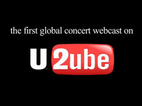 Watch U2 gig live on YouTube