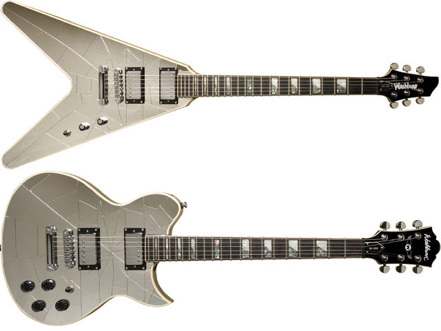 Washburn Cracked Mirror models