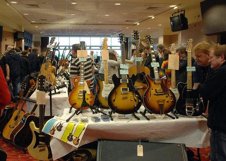 Leeds bradford guitar show