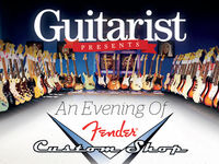 Last chance to buy tickets to our Fender Custom Shop event!
