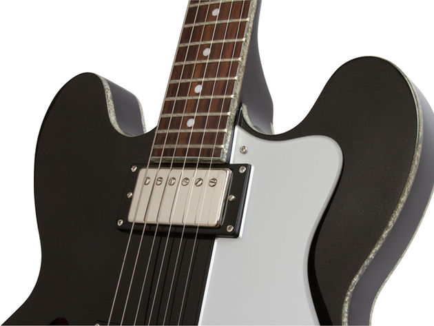 Epiphone Black Royale Dot (neck)