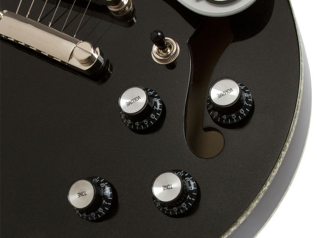 Epiphone Black Royale ES-339 (controls)