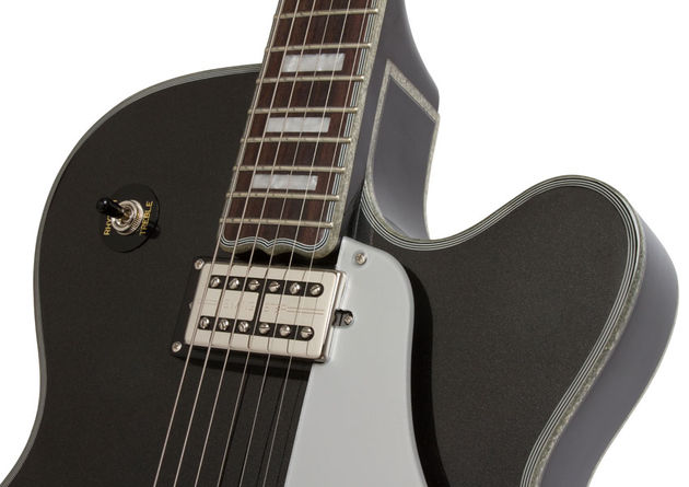 Epiphone Black Royale Emperor Swingster (neck)