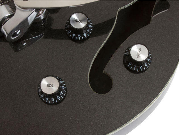 Epiphone Black Royale Wildkat (controls)