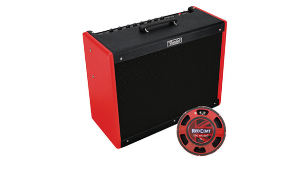 "Hot Rod Deluxe III ""Red Nova Two-Tone"" FSR"