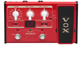 Vox unveils StompLab multi-fx models