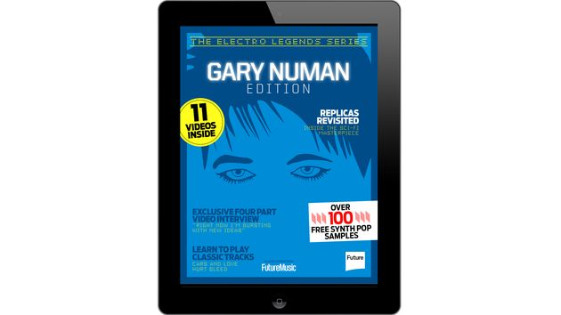 The Gary Numan iPad/iPhone special is out now from the free app of Future Music or Computer Music