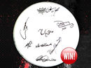 COMPETITION: Win a drum skin signed by Mark Knopfler!