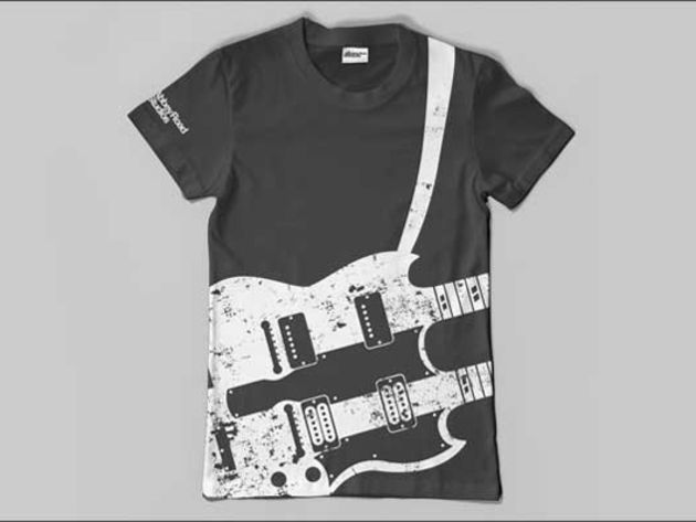 Twin Guitar T-shirt