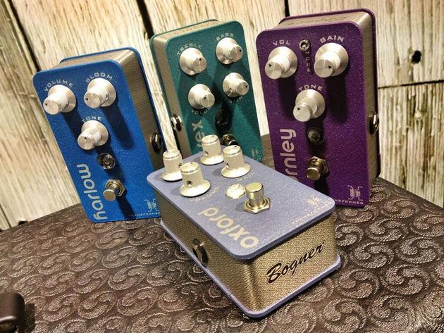 Bogner Amps pedals