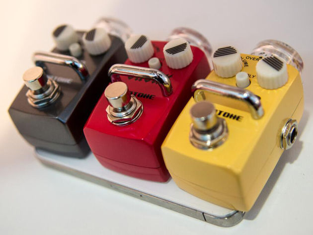 Pint-sized pedals