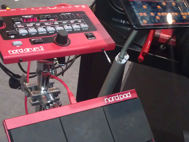 Nord Drum 2 and Nord Pad