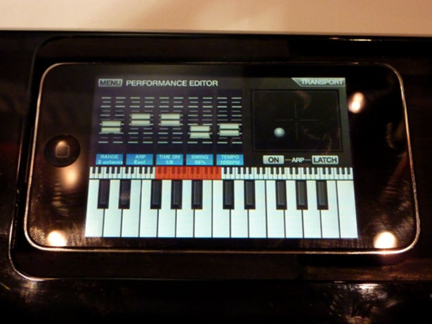 The SynthStation app