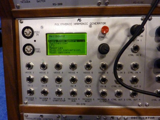 Polyphonic generator unit