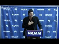 NAMM 2010: Chad Smith talks music in schools on video