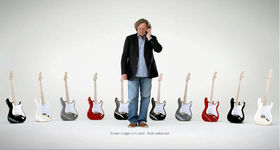 NAMM 2010: That Eric Clapton and Fender phone TV ad shot-by-shot
