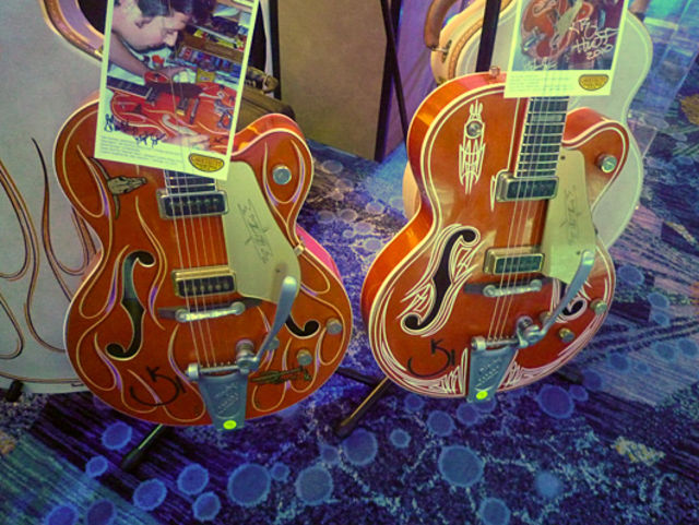 Custom-finished Gretsch Chet Atkins models