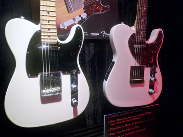 American Special Telecaster and Acoustasonic Tele