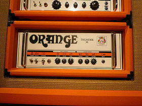 NAMM 2010: Orange Amplifiers stand in pictures