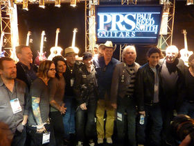 NAMM 2010: PRS Guitars press conference video