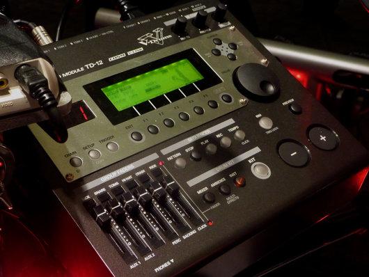 El auténtico cerebro del kit de batería V-Drums TD-12KX