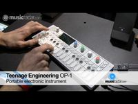 NAMM 2010: Teenage Engineering's OP-1 on video