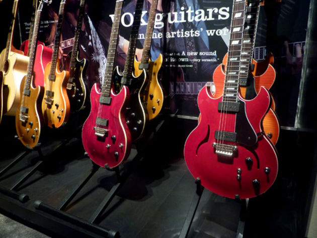 New Vox electric guitars