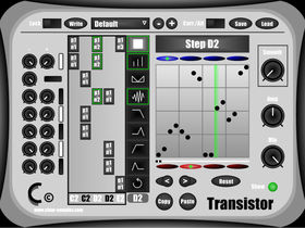Slice up your drums with Transistor