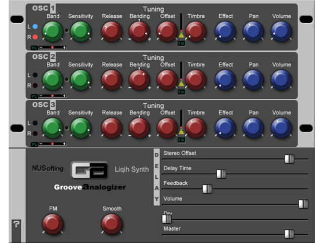 Groove Analogizer creates drum sounds from an audio input.