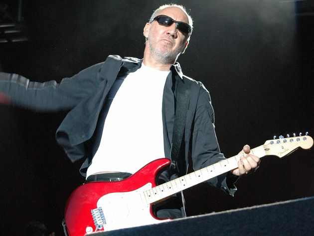 Feedback has always been Pete Townshend's friend.