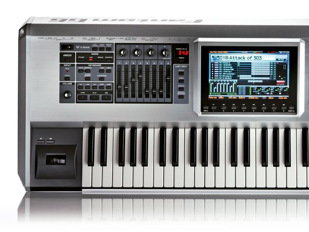 The Fantom-G6 can be used for playing and producing.