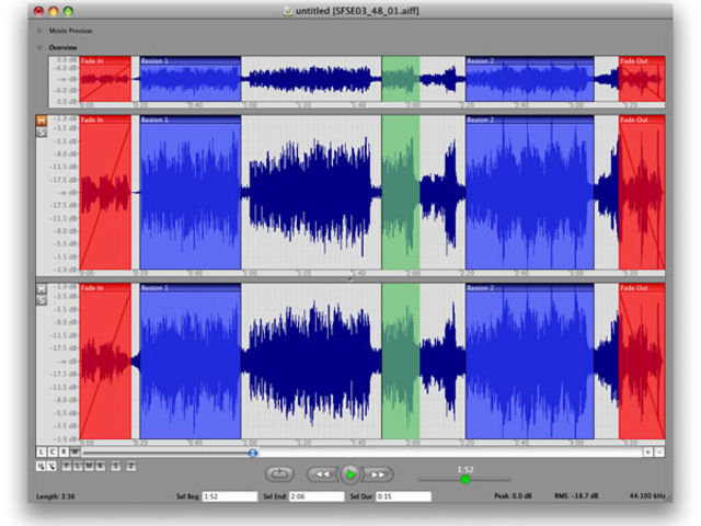 Wave editing is just one of the strings on Sound Grinder Pro's bow.