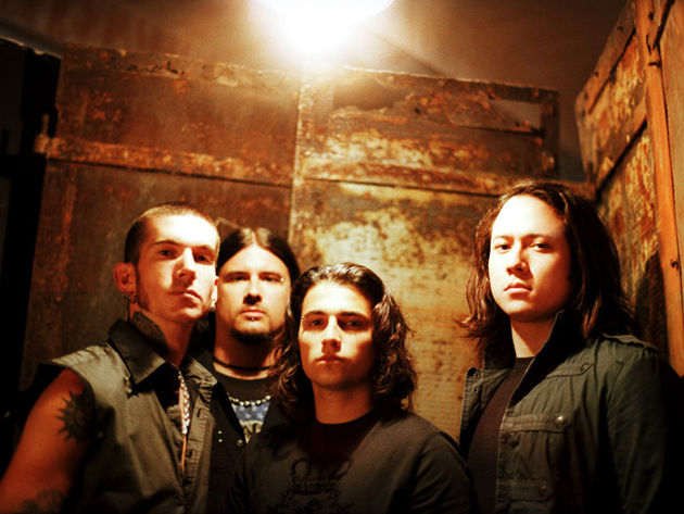 Trivium are part of the new wave of American heavy metal bands.